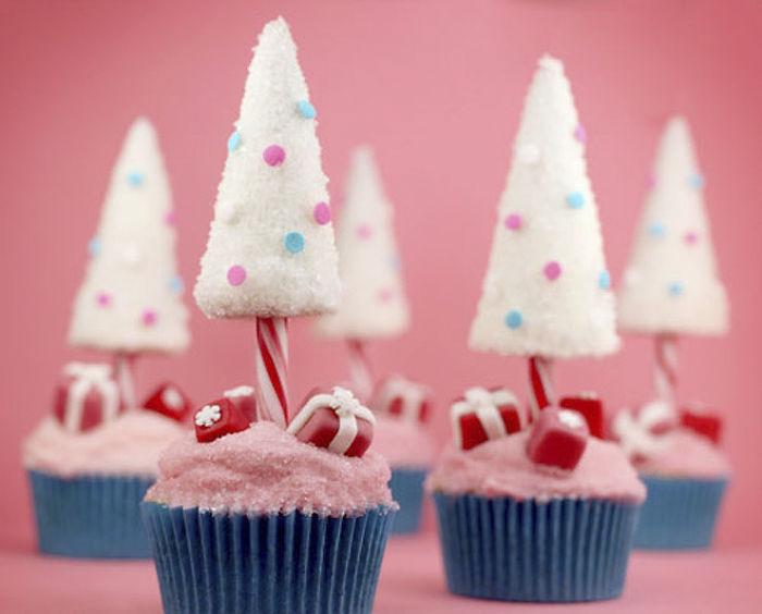 cupcake de natal presentes de natal