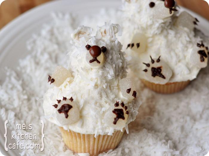 cupcake de natal ursinho