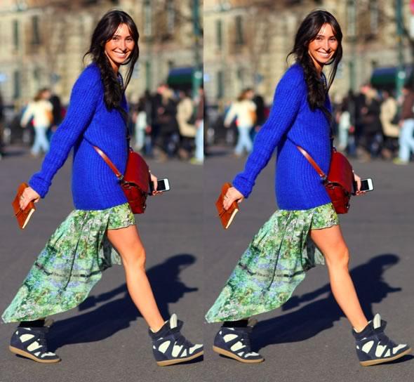 vestido mullet street style looks