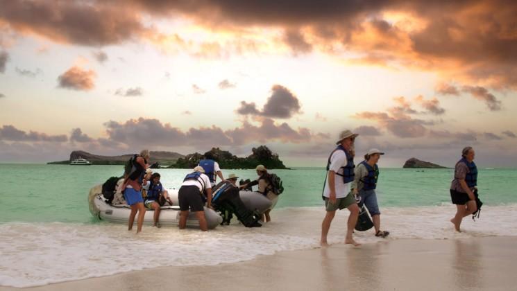 viagem Galápagos