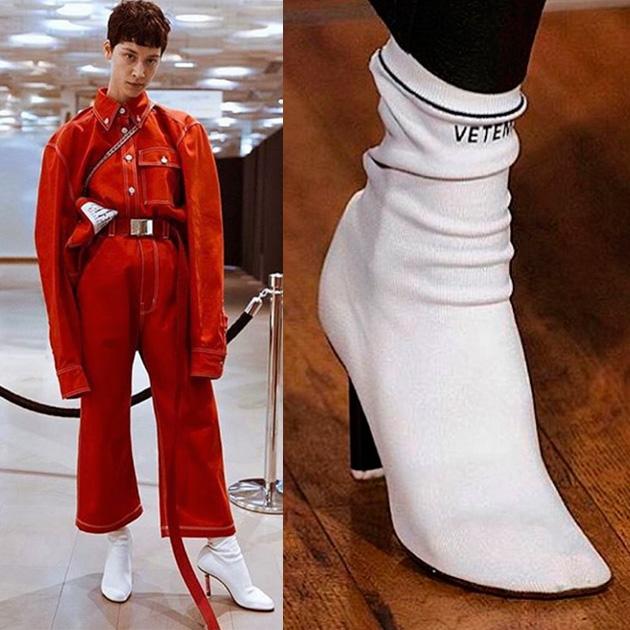 Socks boots bota meia