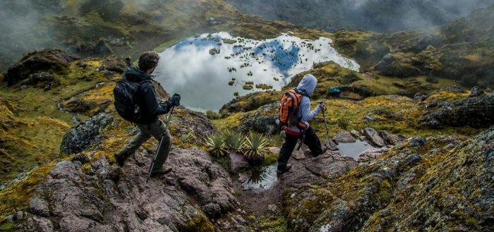 caminho Inca até Machu Picchu