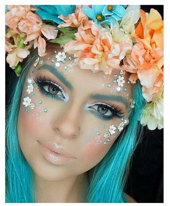 maquiagem de sereia como fazer