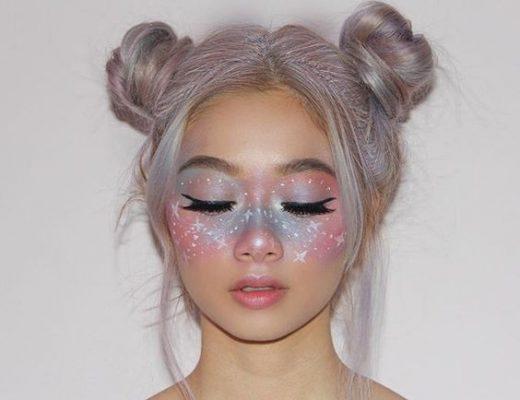 maquiagem galaxy fotos e como fazer