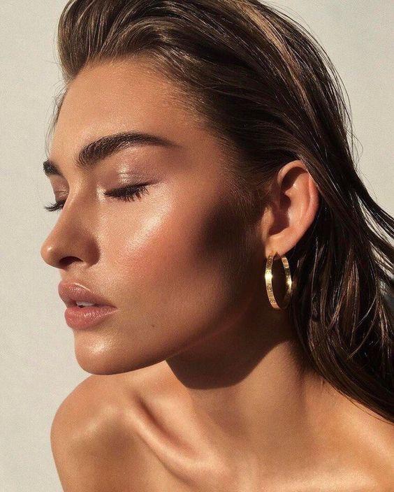 maquiagem natural com bronzer