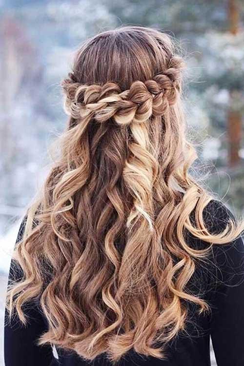 penteados com tranças ideias