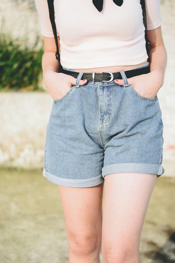 shorts jeans para quem coxa grossa