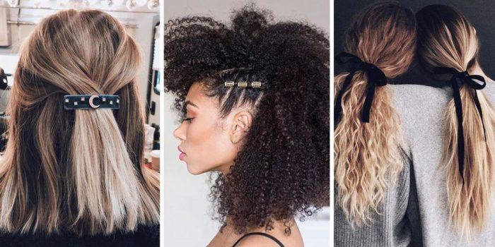 tendência penteados 2018