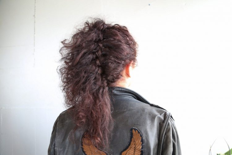 trança lateral cabelo crespo