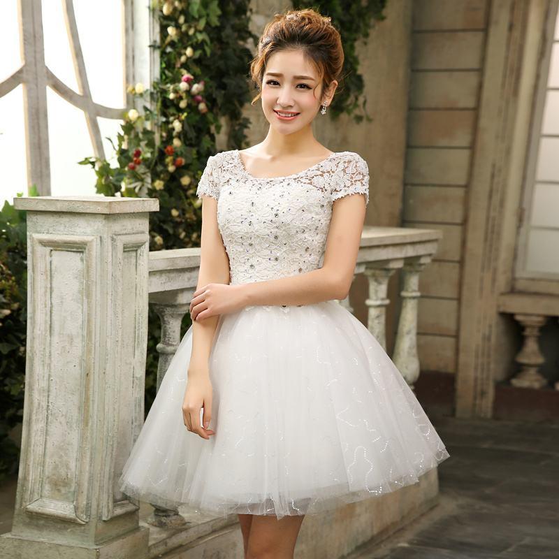 vestido debutante 15 anos branco curto
