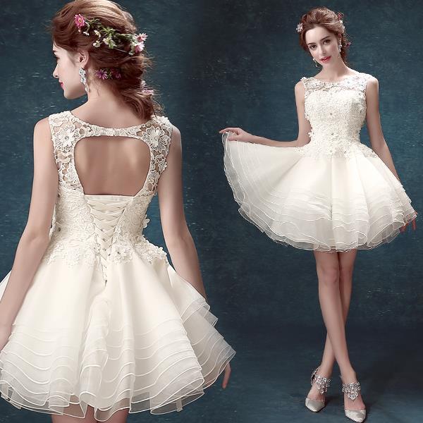 vestido debutante 15 anos cuto branco