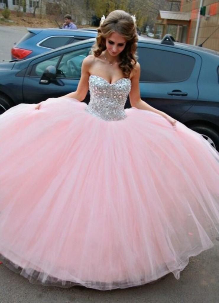 vestido debutante 15 anos longo rosa