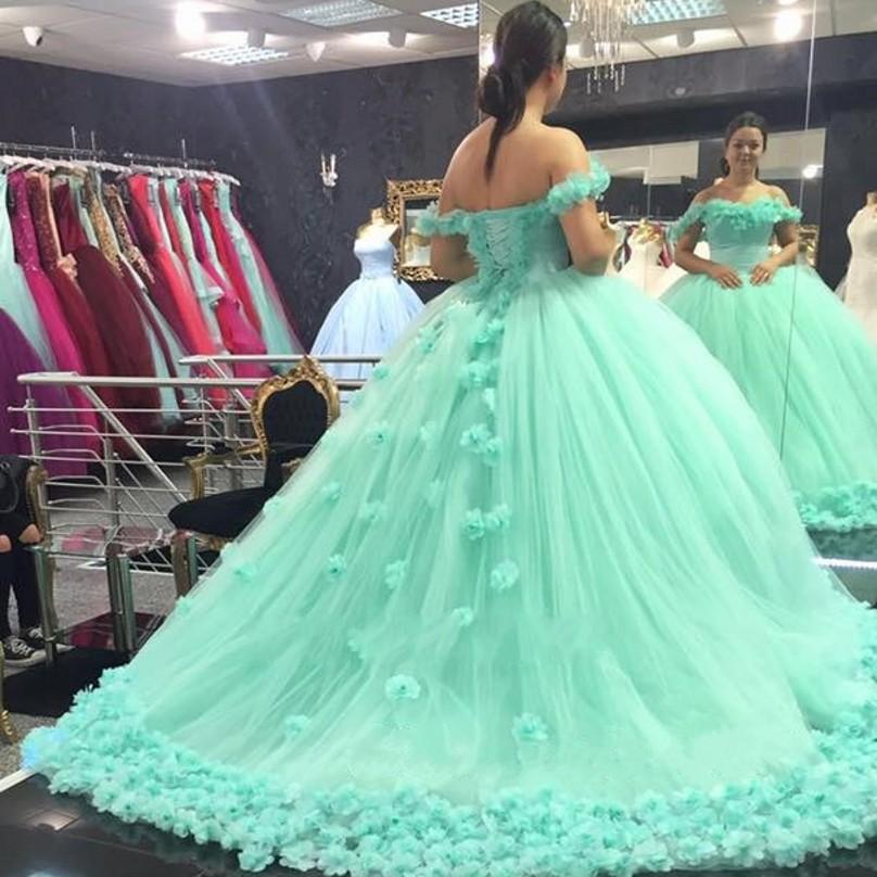 vestido debutante 15 anos verde claro longo