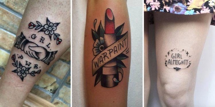 tatuagem feminista girl power destaque