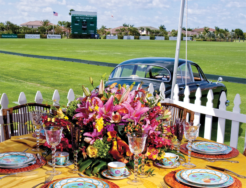 Sunday Polo Brunch at the International Polo Club