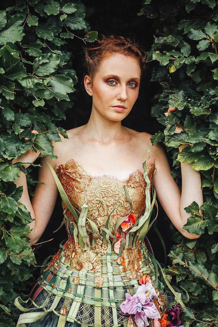 vestido jardim floral