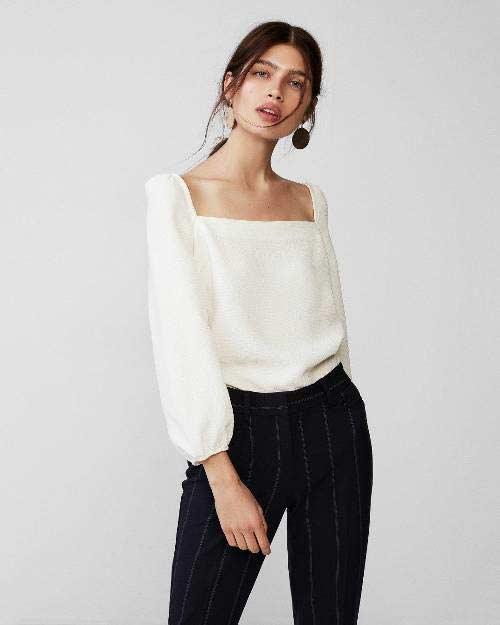 blusa-branca-decote-quadrado