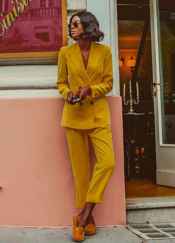 conjutno amarelo looks
