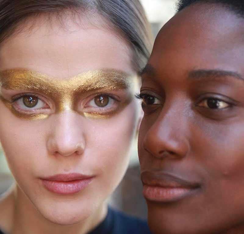 maquiagem-spfw-dourada
