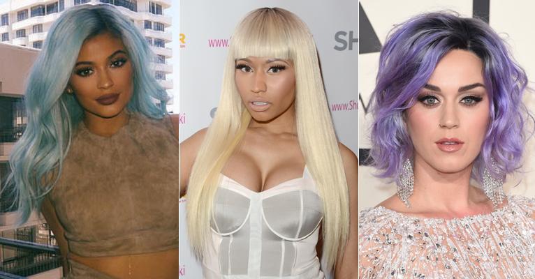 perucas e famosas