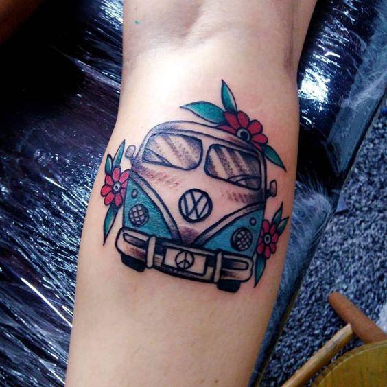 tattoo kombo colorida