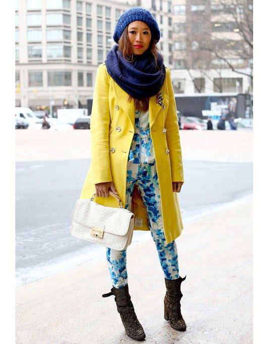 touca e gorro de lã loks casaco amarelo
