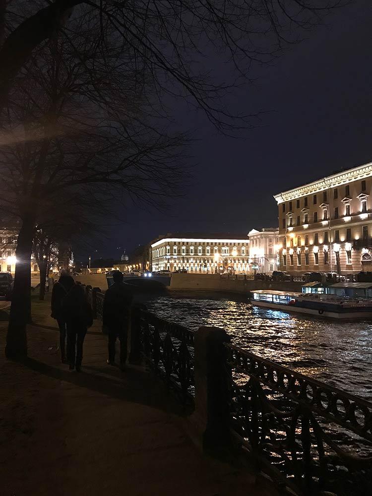 St-Petersburg-noite