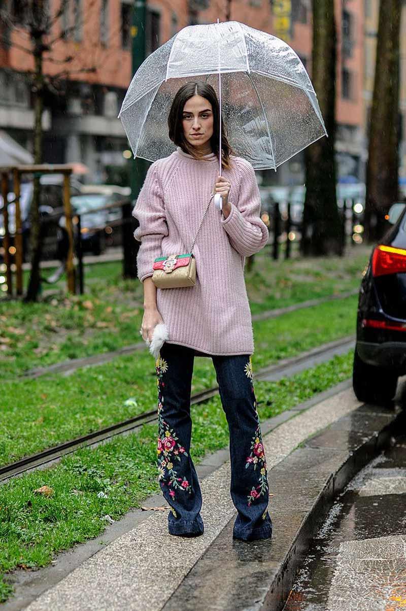 look-dia-de-chuva-calça-jeans-e-blusão