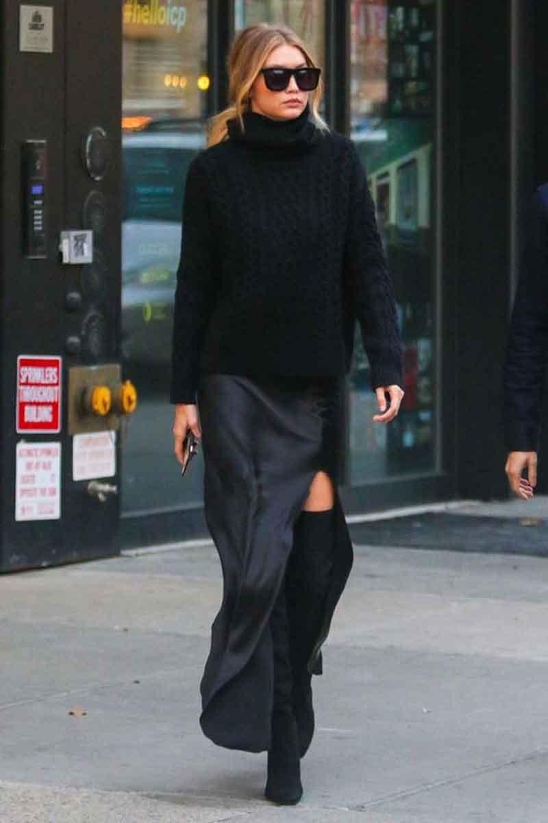 como-usar-trico-com-vestido-longo-inverno