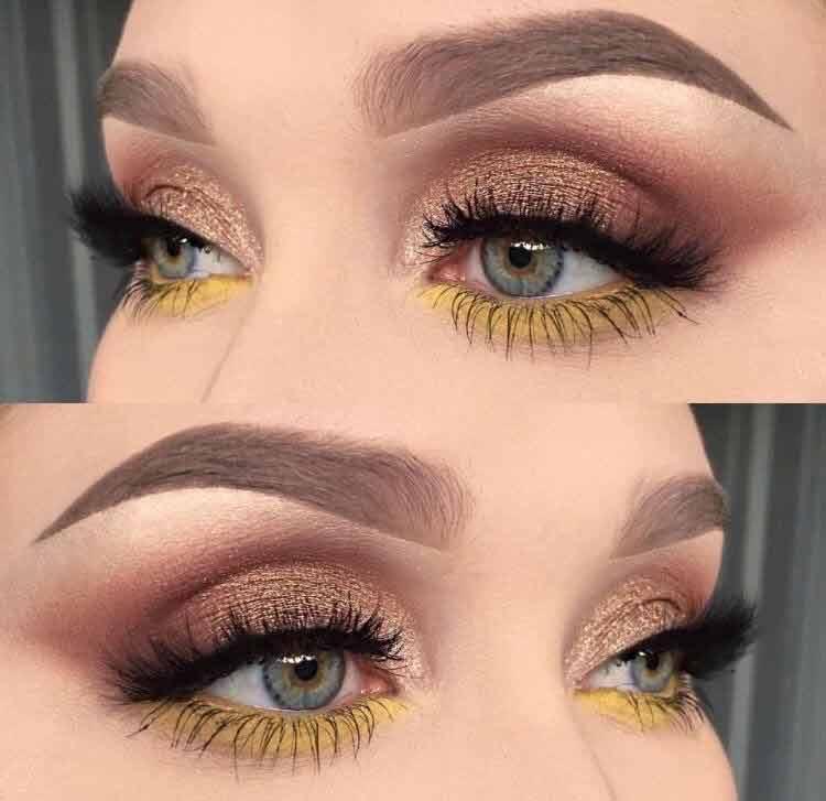 maquiagem-para-copa-sombra-amarela-