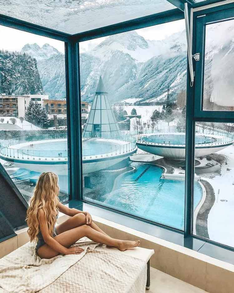 Aqua-Dome-4-Sterne-Superior-Hotel-&-Tirol-Therme-Längenfeld-Längenfeld-Áustria