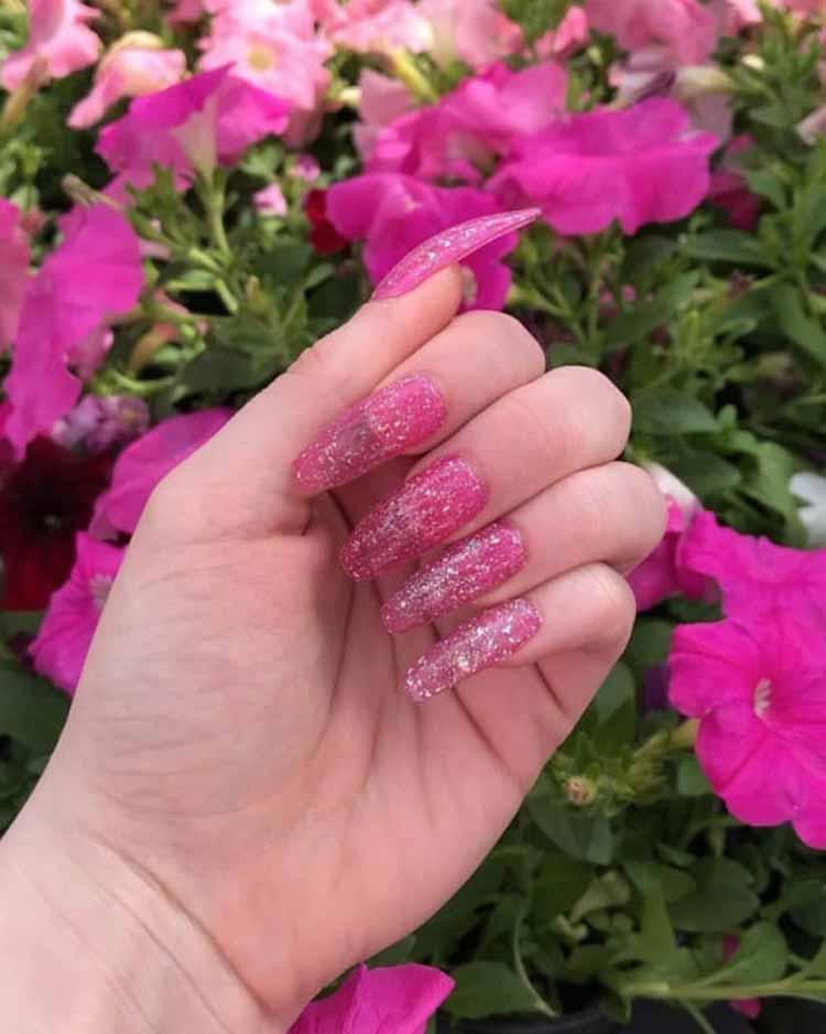 jelly-nails-unha-gelatina-com-glitter