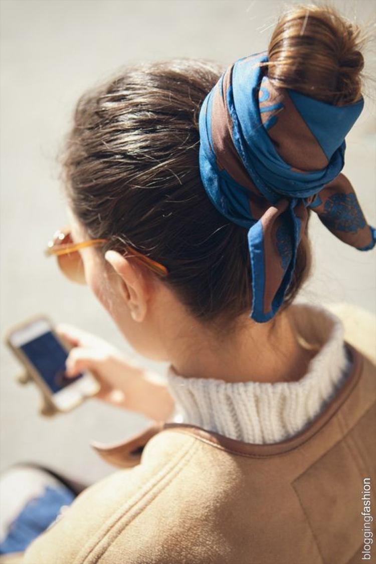 penteado-coque-com-lenço