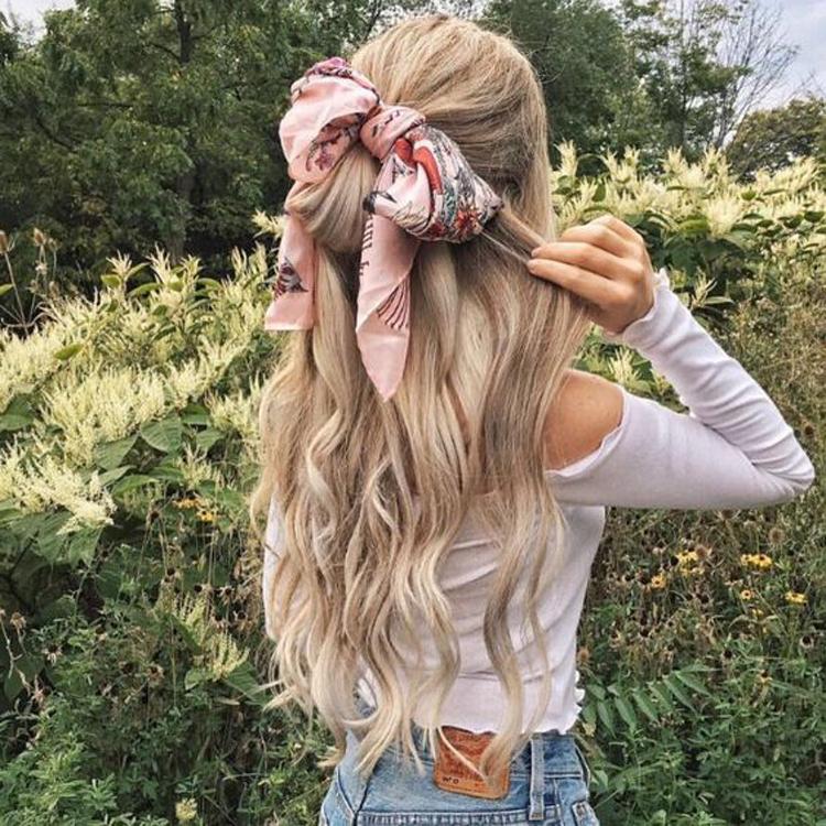 penteados-com-lenço
