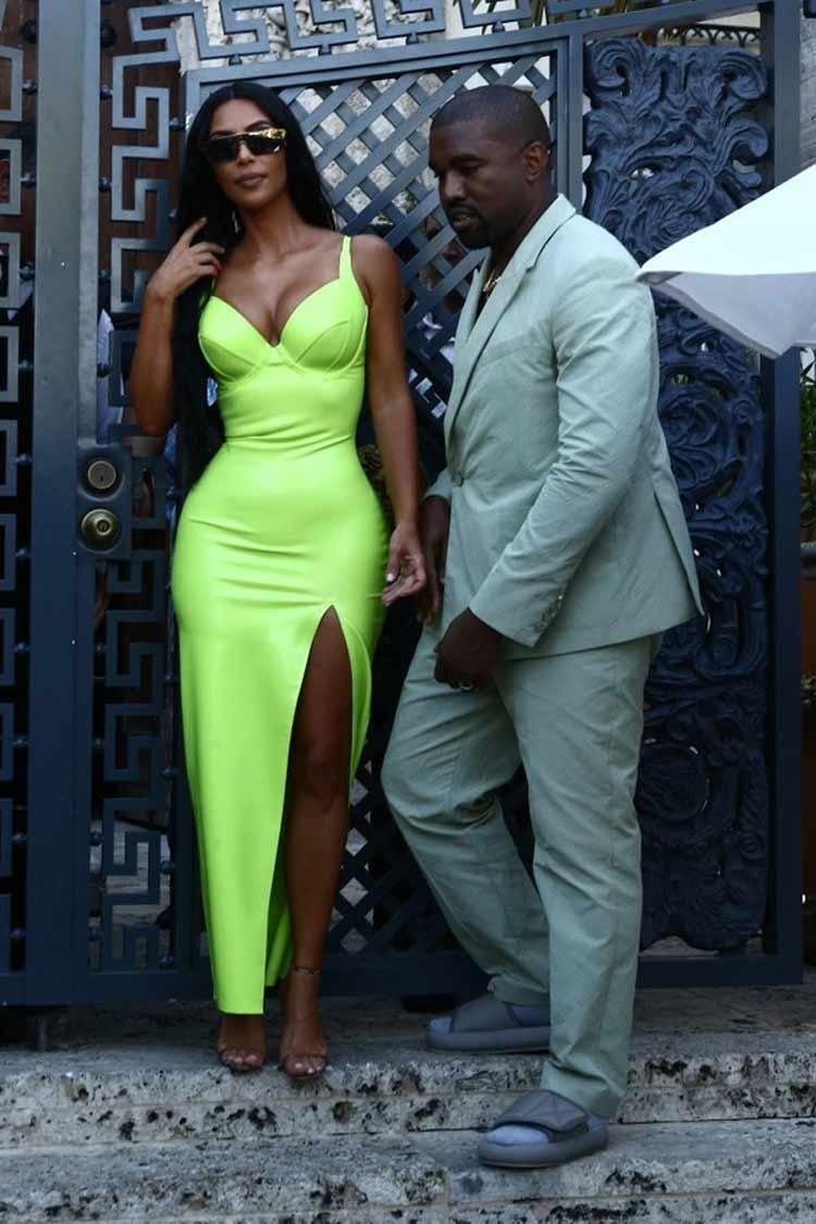 kim-kardashian-vestido-verde-neon