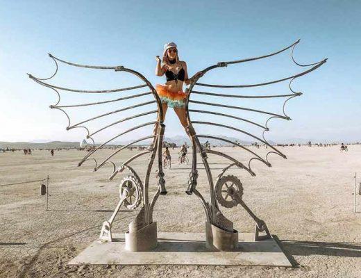 bf2e84b8bf0 Burning Man 2018  60 fotos épicas do festival mais louco do mundo