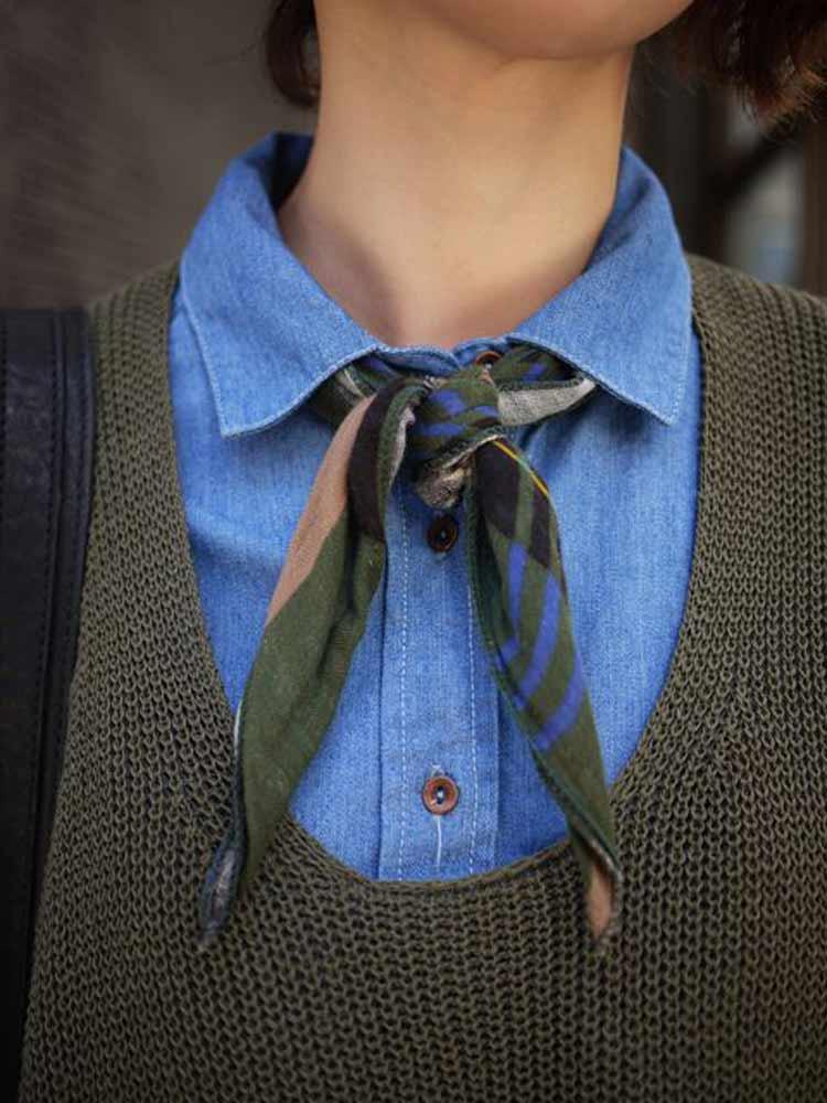 lenço-como-gravata
