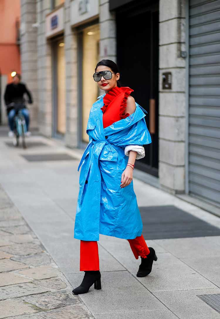 looks-neon-como-usar-casaco-azul-roupa-vermelho