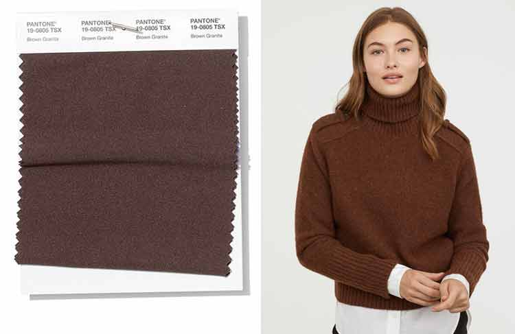 spring_summer_2019_Pantone_colors_trends_brown_granite