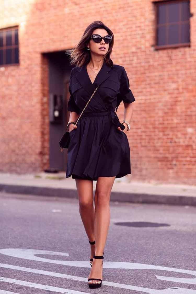 como-usar-roupa-preta-no-verão-vestido-elegante