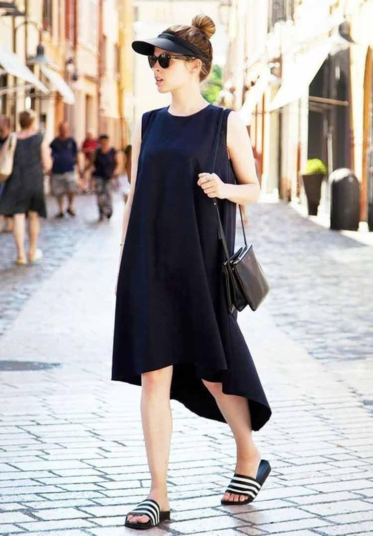 como-usar-roupa-preta-no-verão