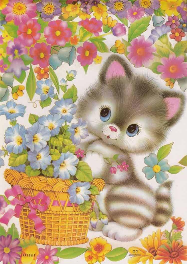 papel-de-carta-gato-fofos
