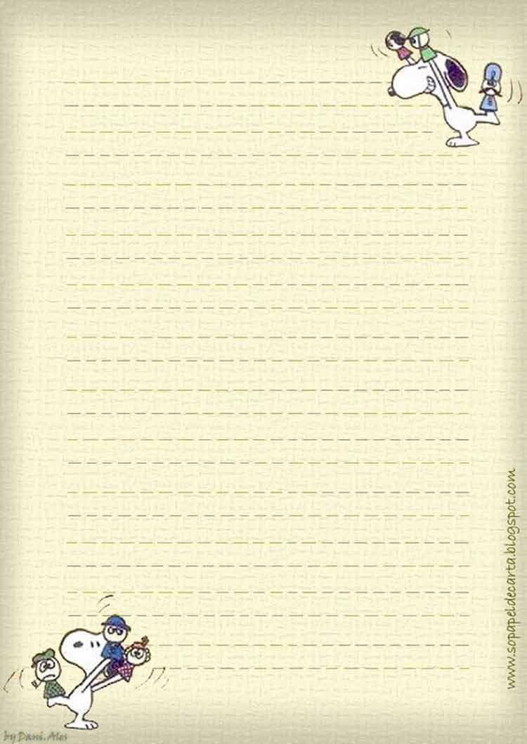 papel-de-carta-snoopy-2