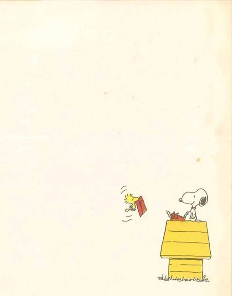 papel-de-carta-snoopy