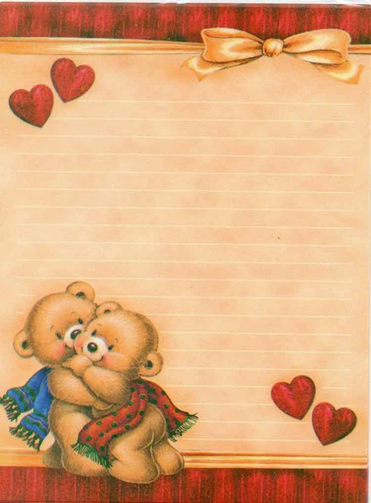 papel-de-carta-ursos-amor