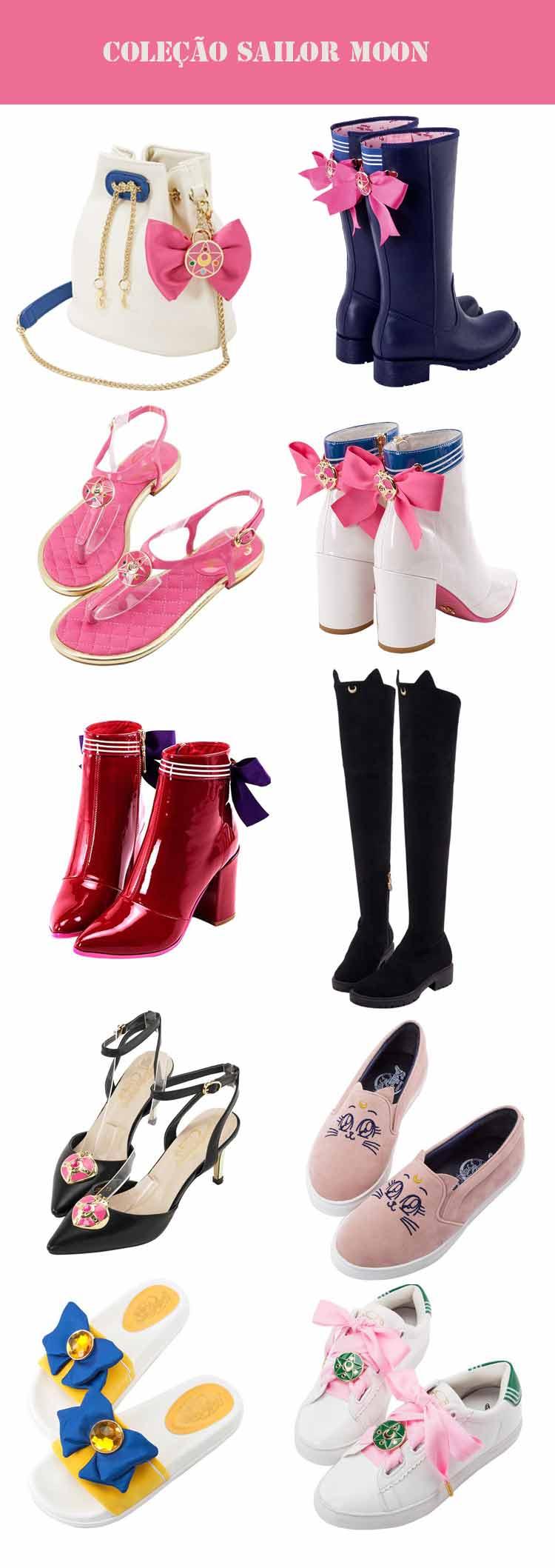 coleção-de-calçados-e-bolsas-sailor-moon