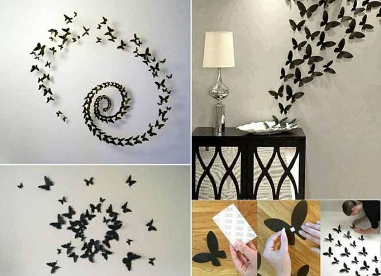 decoração-parede-borboleta-3d