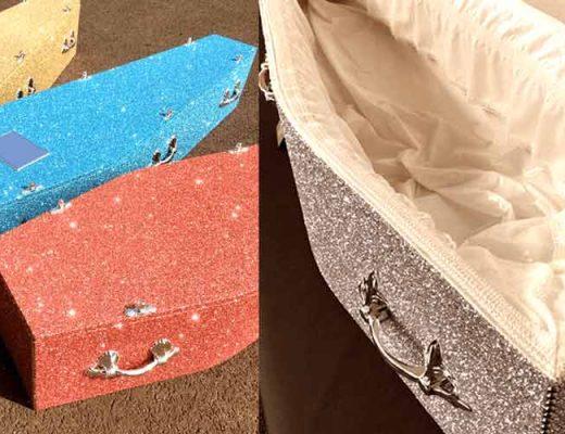glitter-caixão