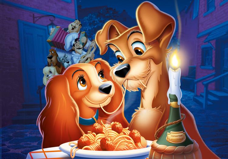 A-Dama-e-o-Vagabundo-espaguete-com-almôndegas