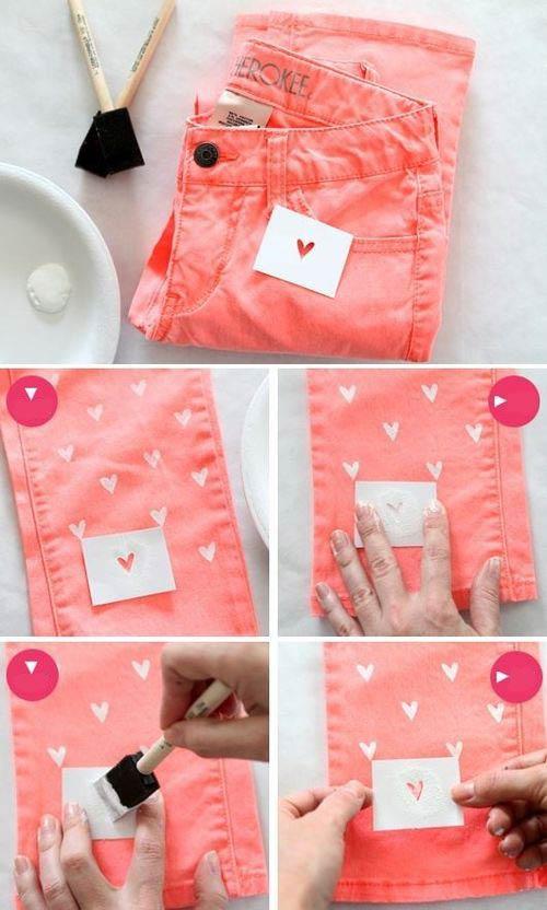 como-customizar-calça-com-stencil